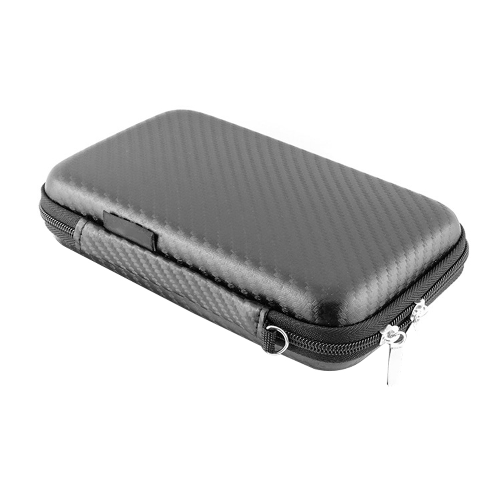 Portable USB Hard Drive Disk Carry Case Cable Earphone Phone Storage Pouch Bag
