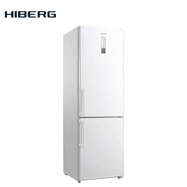 Холодильник NO FROST HIBERG RFC-301D NFW, объем 323 л
