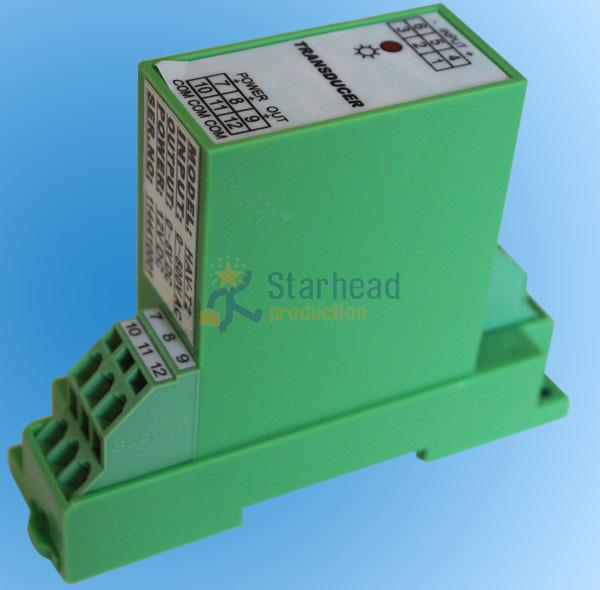 Single phase DC voltage isolation transmitter transducer measure 0 1000V Output 300V 1000V Output 4 20mA