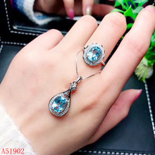 KJJEAXCMY exquisite jewelry 925 sterling silver inlaid natural topaz ring pendant necklace female suit support test kjjeaxcmy exquisite jewelry 925 sterling silver inlaid natural jasper pendant ring necklace earring and ear nail set support