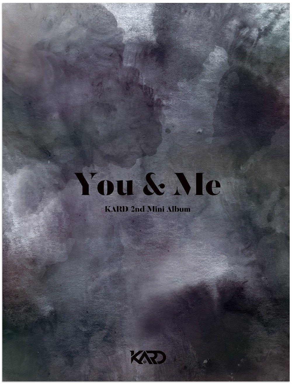 все цены на KARD - YOU & ME (2nd Mini Album) - Release Date 2017.11.22