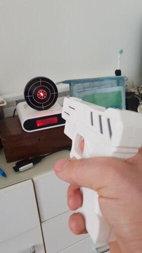 Target Laser Shooting Alarm Clock photo review