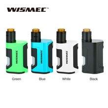 Original WISMEC Luxotic DF Box 200W TC Kit with Guillotine Version2 RDA & 7ml Bottle Squonker Vape Kit No 18650 Battery Vs GEN 3