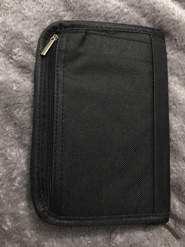 ISKYBOB passport documents package Travel Bag Pouch Passport ID Credit Card Wallet Cash Holder Organizer Case Box photo review