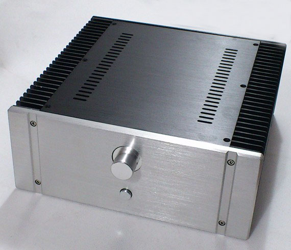 BZ3213A All Aluminum Housing DIY Amp Case Amplifier Chassis Preamplifier Box Class A Audio Enclosure 320MM*130MM*313MM