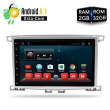 Android 8,1 автомобильный DVD стерео Мультимедиа для Lexus LX470 Toyota Land Cruiser100/LC100 авто радио gps ГЛОНАСС 2 г Встроенная память