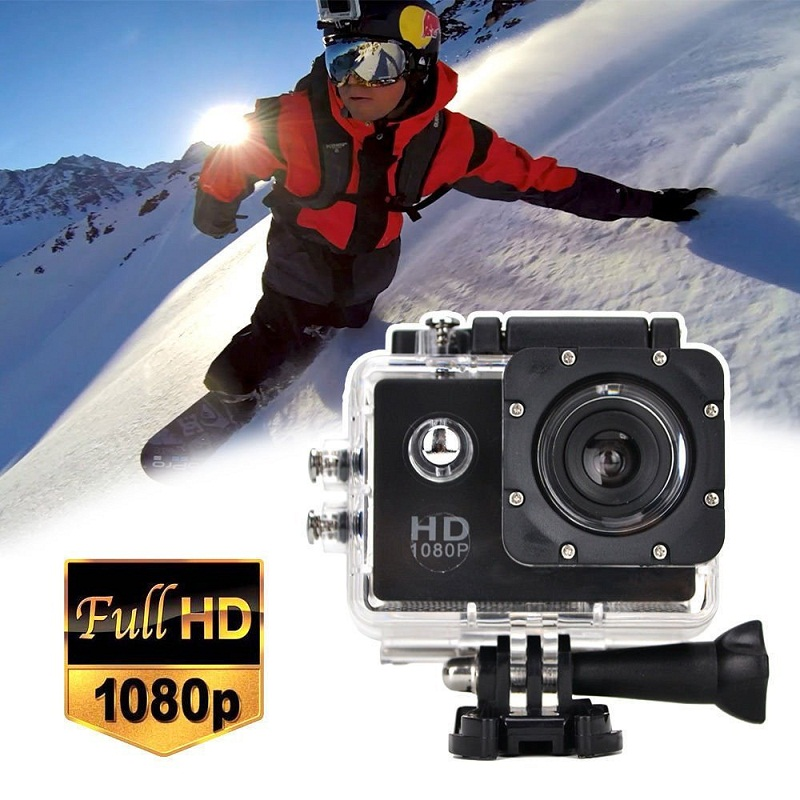2017 Dveetech Waterproof Action Camera Wifi 1080p Full HD Underwater Cam Sports Mini Portable Bicycle Helmet
