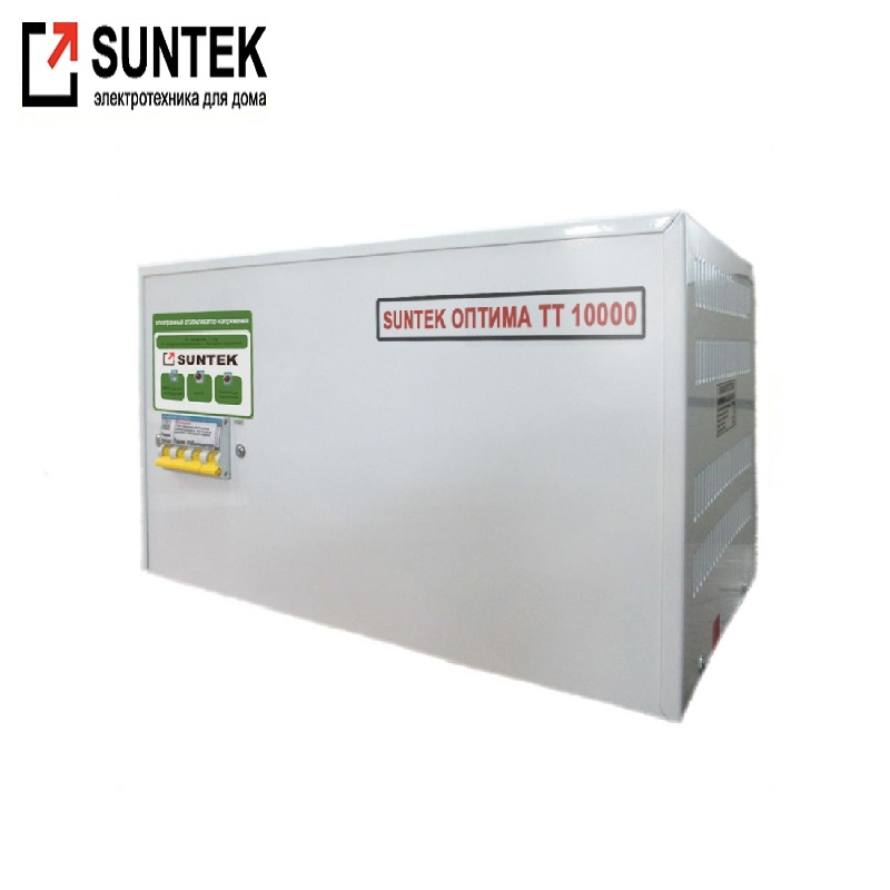 Voltage stabilizer thyristor SUNTEK Optima TT 10000 VA AC Stabilizer Power stab Stabilizer with thyristor amplifier цена и фото