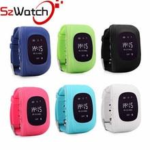 Q50 SzWatch relógio Inteligente Crianças Kid Relógio De Pulso GSM GPRS Localizador GPS Tracker Criança Guarda de alarme Anti-Perdida Smartwatch para iOS Android