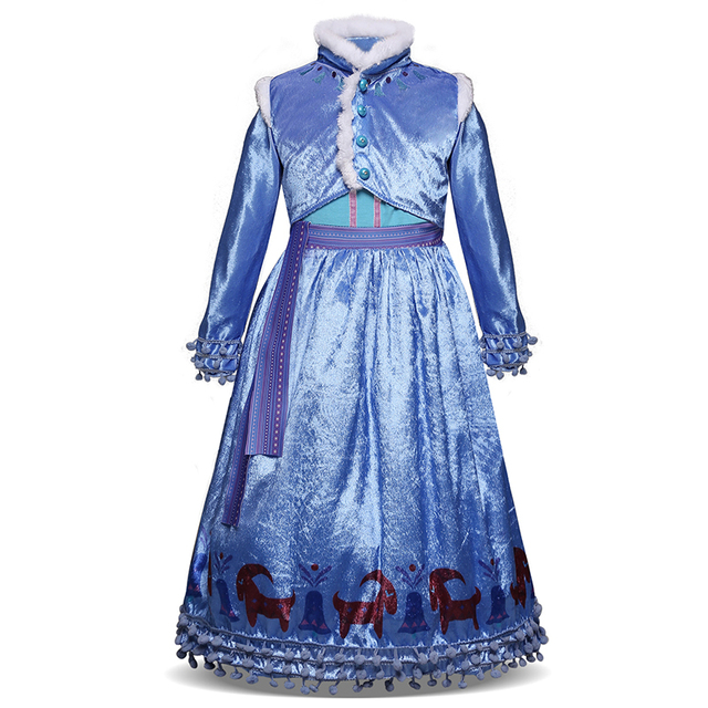 90c280b8b Tulle Costume Carnival Party Princess Dresses Little Girl Clothing ...