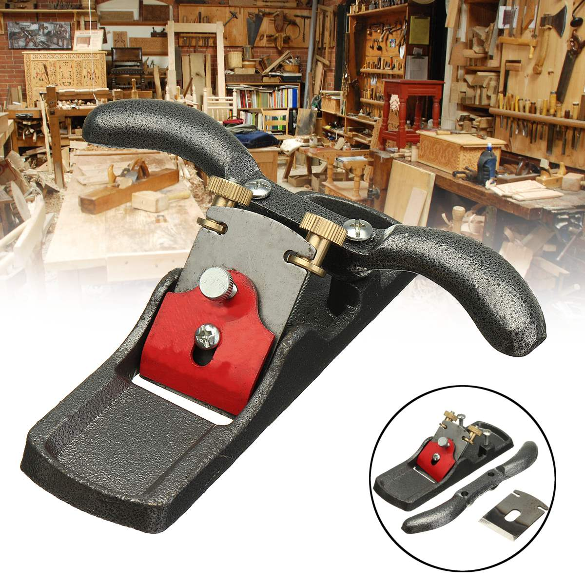 Malleable iron Adjustable Woodworking Tools Woodworking Planer Wood Planer Planing Wood Hand Plane Carpenter Hand ToolMalleable iron Adjustable Woodworking Tools Woodworking Planer Wood Planer Planing Wood Hand Plane Carpenter Hand Tool