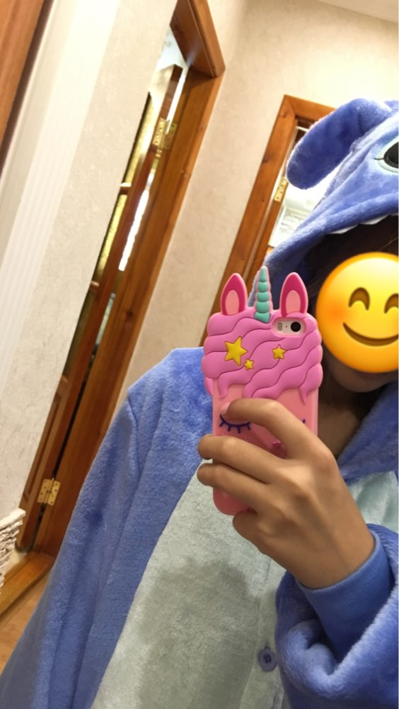 Pink Unicorn Soft Silicone Case photo review
