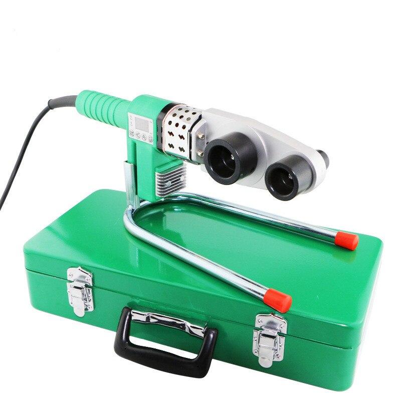 Ausgezeichnete Qualität 20-32mm 800 Watt 110 V & 220 V digitalen anzeigegeräten ppr schweißgerät kunststoff rohrschweißer