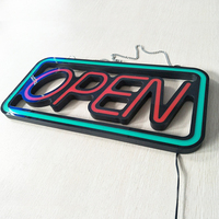 Beautiful & brightness Led Neon Open sign For Business Shop Store under sun
