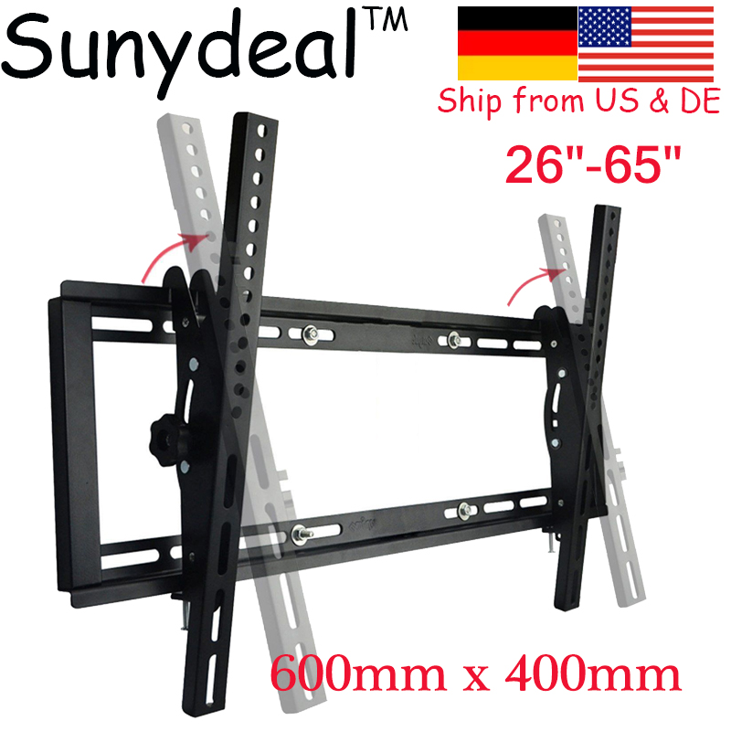 Wall TV Mount 26 55'' 60'' 65'' 70'' TV Monitor Stand TV Brackets LCD LED Plasma Flat Tilt Wall Mount Support TV Holder dhl ems 1pc new for ball uff bes m12mf gsc30b s04g