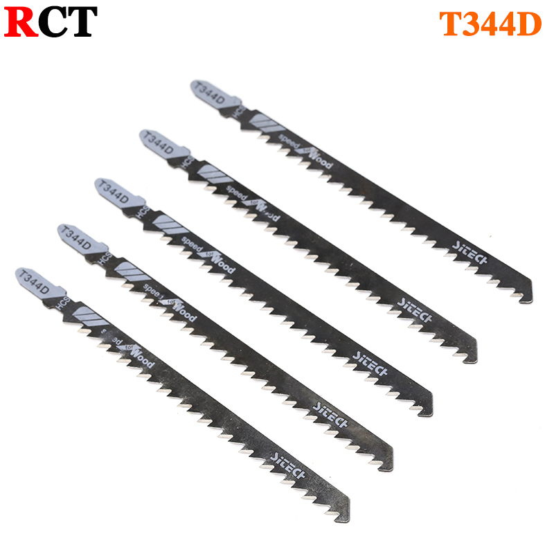 5PCS 135mm T344D Super-long Saw Blades Clean Cutting For Wood PVC Fibreboard Reciprocating Saw Blade Power Tools 10pcs jig saw blades reciprocating saw multi cutting for wood metal reciprocating saw power tools accessories rct