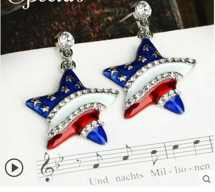 Boucles d'oreilles stars de la mode européenne et américaine bijoux à travers la journée des femmes de californie>> boucles d'oreilles filles perle livraison gratuite