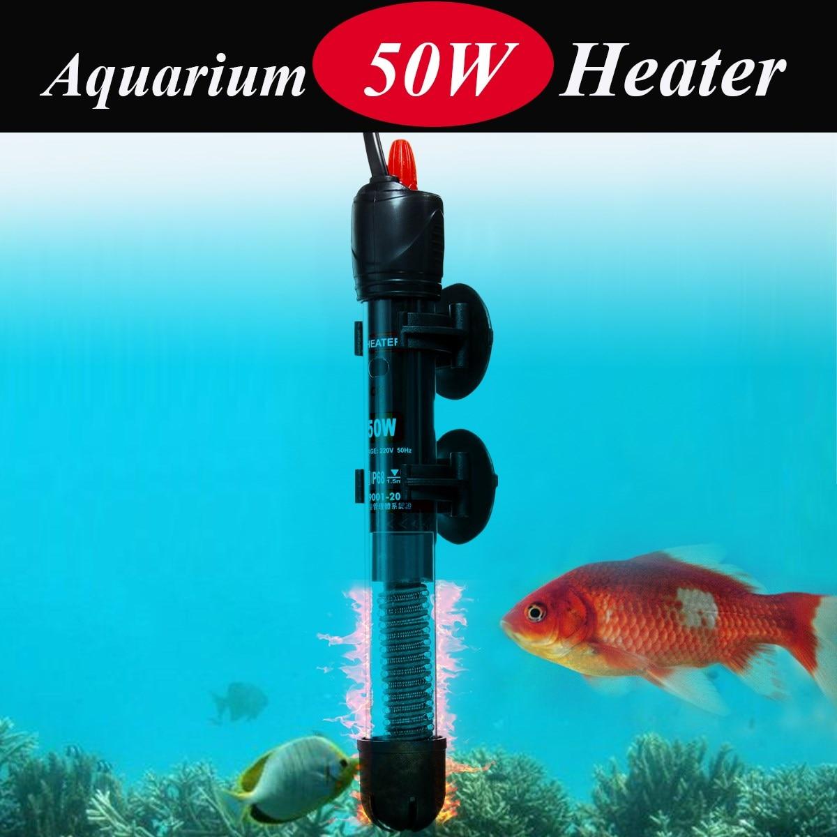 50W/100W/200W/300W Submersible Aquarium Fish Tank Water Heater Automatic Adjustable Temperature Heating Device Heater Tank tank water heater water heater heat water tank - title=