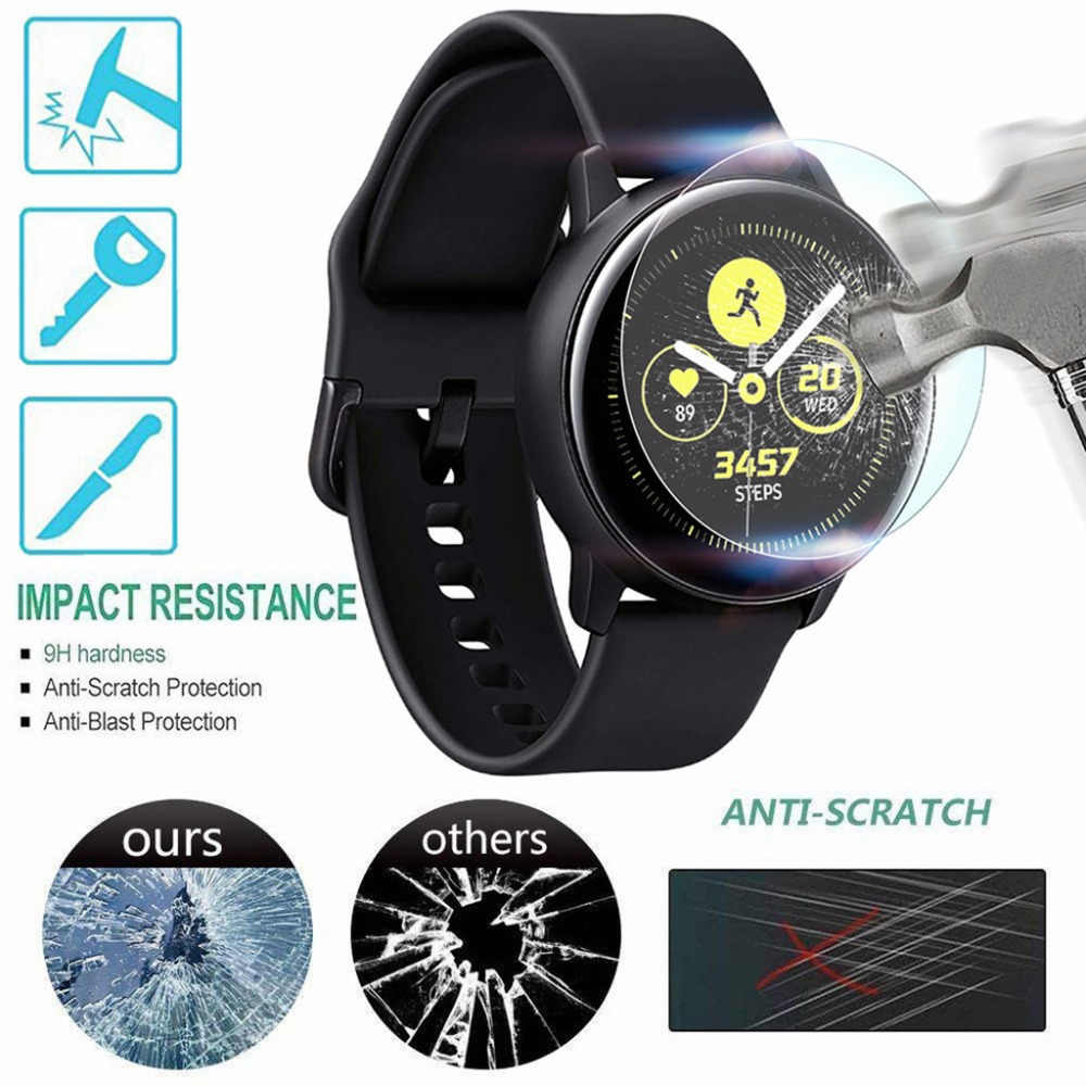 1or 2 PACK Tempered Glass Screen Protector For Samsung Galaxy Watch Active