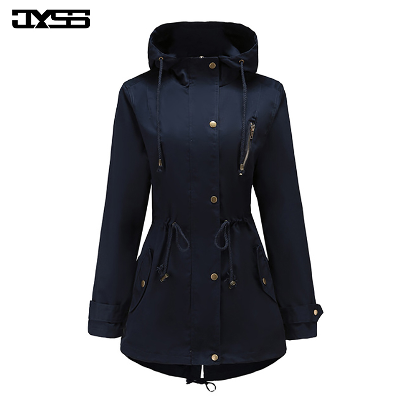 Manteau chic femme bleu