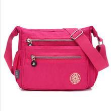 Nylon Handbag Crossbody-Bag Messenger-Bags Shoulder Evening Female Waterproof Fashion Women