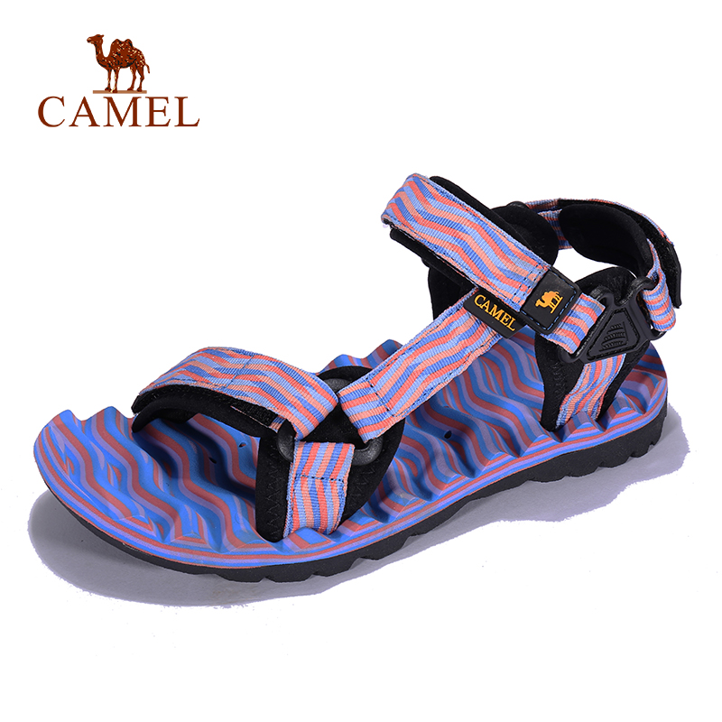 CAMEL Women Outdoor Beach Sandals Spring Summer Casual Soft Anti-slip Hiking Trekking Shoes Fishing Sandals
