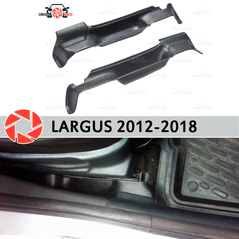 Bolso caixa de armazenamento assentos para Lada Largus 2012-2018 caixa de acessórios de decoração do carro styling bolso entre os assentos