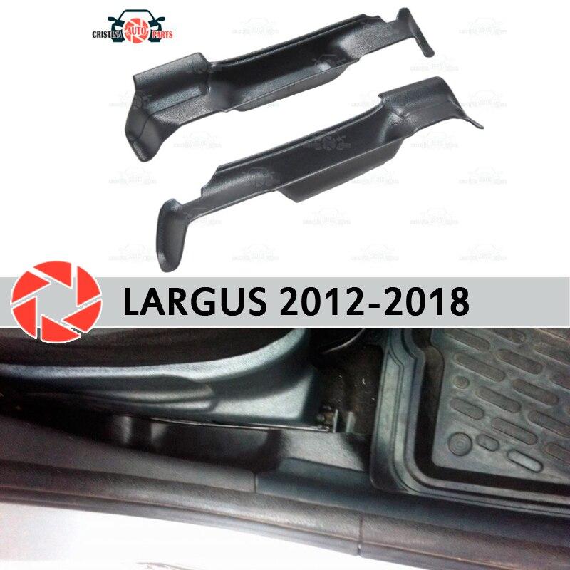 Caja de bolsillo, almacenamiento de asientos para Lada Largus 2012-2018, accesorios para cajas, decoración de coche, diseño de bolsillo entre los asientos