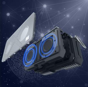 Image 4 - Bluetooth Loa NILLKIN 2 trong 1 Bộ Sạc Điện Thoại Ngoài Trời Bluetooth 4.0 Loa ngân hàng Điện trạm trong 1 âm nhạc hộp loa protable