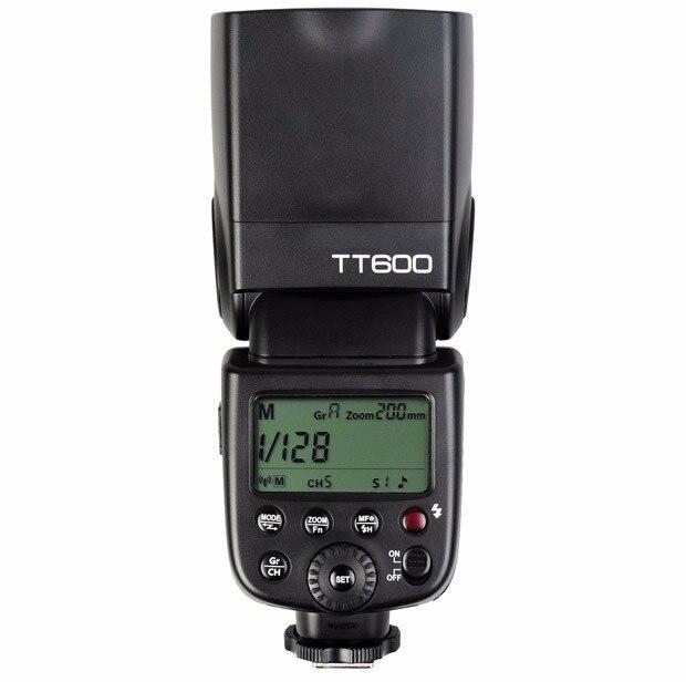 Godox TT600 2.4g Sans Fil Caméra Flash Speedlite pour Canon Nikon Pentax Olympus Fujifilm Panasonic