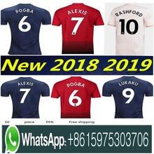 e43537fdd Optimum quality 2018 2019 Manchester United man utd soccer Jerseys  camisetas shirt survetement Football shirt(