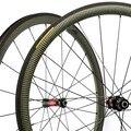 Neue Design Wunder 100% Kevlar Carbon Räder 700C Rennrad Carbon Bike Räder Carbon Klammer Felgen 38mm 25mm breite Laufradsatz
