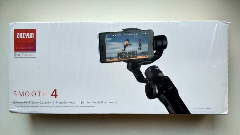 ZHIYUN Official Smooth 4 3-Axis Handheld Gimbal Stabilizer for Smartphone iPhone X 8 Plus 7 6 SE Samsung Galaxy S9,8,7,6