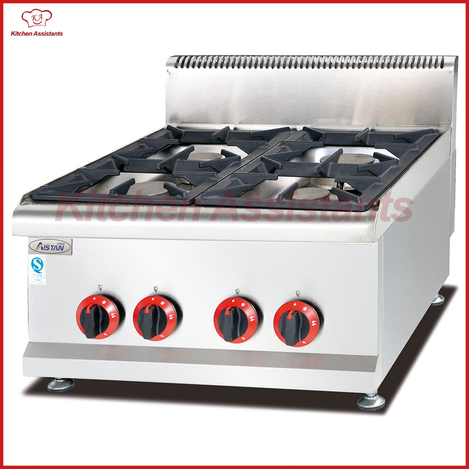 GH587 counter top gas stove burners of combination oven