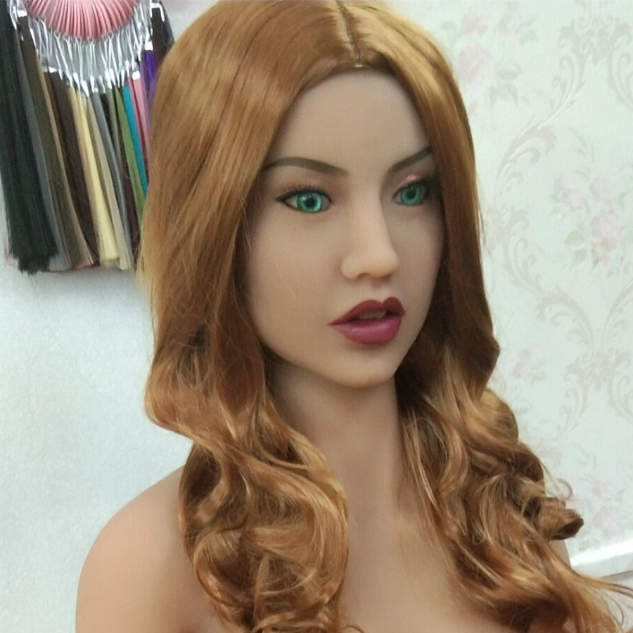 #63 sexy lady <font><b>sex</b></font> <font><b>doll</b></font> <font><b>head</b></font> for big size <font><b>135cm</b></font>/140cm/148cm/153cm/152cm/155cm/158cm/163cm/165cm/170cm image