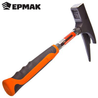 ERMAK HAMMER ROOFER High quality hand tool rubber handle multipurpose roofing hammer for installation work sale 662 069