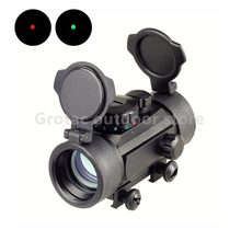 Red Green Dot Scope 1X30 Tactical Hunting Holographic Sight for Shot Gun Airsoft 20mm Rail Mount Riflescopes Hunting Optics(China)