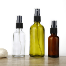 Aihogard 100/50/30ML Refillable Portable Essential Oil Liquid Sprayer Empty Atomizer Makeup Spray Bottle Perfume Glass Atomizer