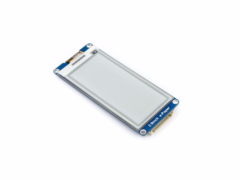 Image 4 - 2.9inch E Ink Display Screen 296x128 E Paper Module SPI Support Partial Refresh Ultra Low Power Consumption Wide Viewing Angle-in Demo Board from Computer & Office