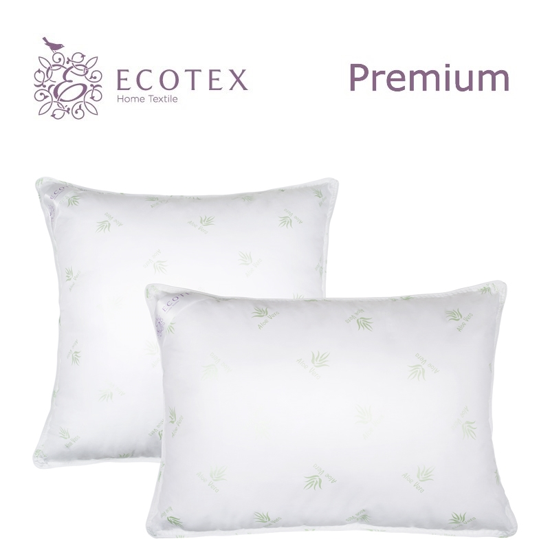 Pillow Aloe Vera collection Premium. Production company Ecotex(Russia). pillow argo collection premium production company ecotex russia