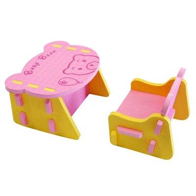Ensemble de chaise pour enfants/enfants ensembles de meubles et table et chaise eva dîner pique-nique bureau siège meubles