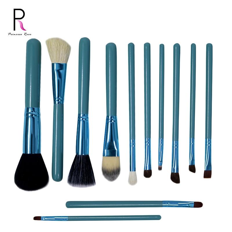 Princess Rose 12st Make Up Brush Set Makeup Brushes Kit Pinceis - Smink - Foto 1