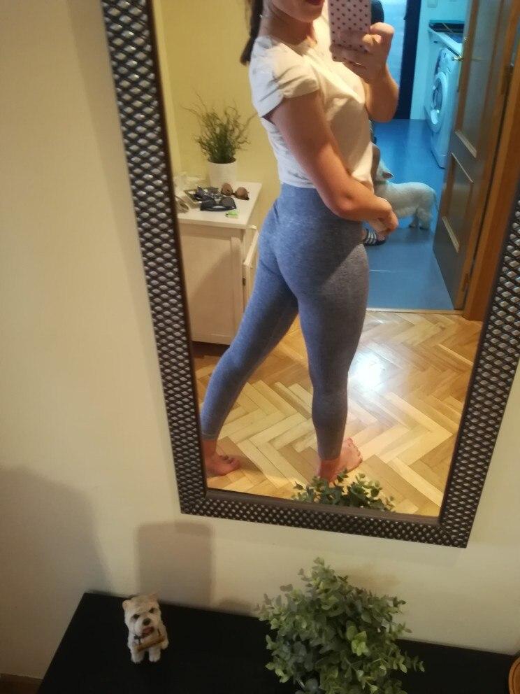 Calças de ioga feminino cintura execução