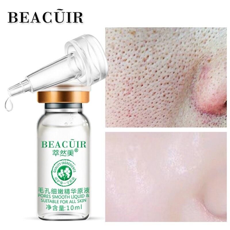 BEACUIR Schrumpfen Poren Hyaluronsäure flüssigkeit Feuchtigkeitsspendende Gesicht Serum Bleaching Anlage Hautpflege Anti Aging Anti Falten Creme 10 ml