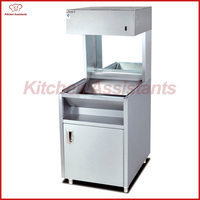 VF9 Commercial Electric Vertical Chip Warmer Display Showcase