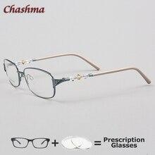 Chashma Myopia Glasses Fresh Style Female Frame Korea Design Crystal Eyewear Quality Prescription Women