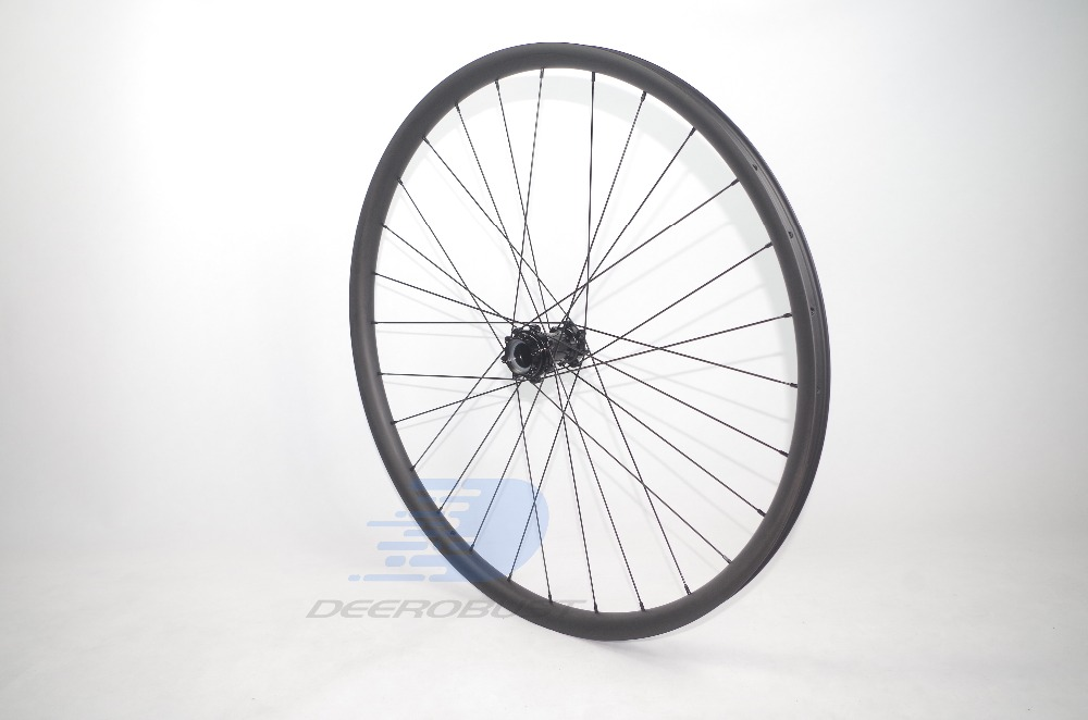 1250g 29er MTB XC 24mm x 30mm Hookless Straight Pull 29 quot Carbon Bike Wheelset 28H Lefty 1 0 2 0 Wheel Rear 135mm 142mm 148 Boost in Bicycle Wheel from Sports amp Entertainment