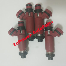 Fuel Injector Nozzle OEM 23250-97201/23209-97201/195500-3410/2325097201/23209-97201 fits For Duet M100AGMNF D-aihatsu Hijet 4pcs auto spare parts fuel injector nozzle for hilux hiace oem 23250 75100 23209 75100