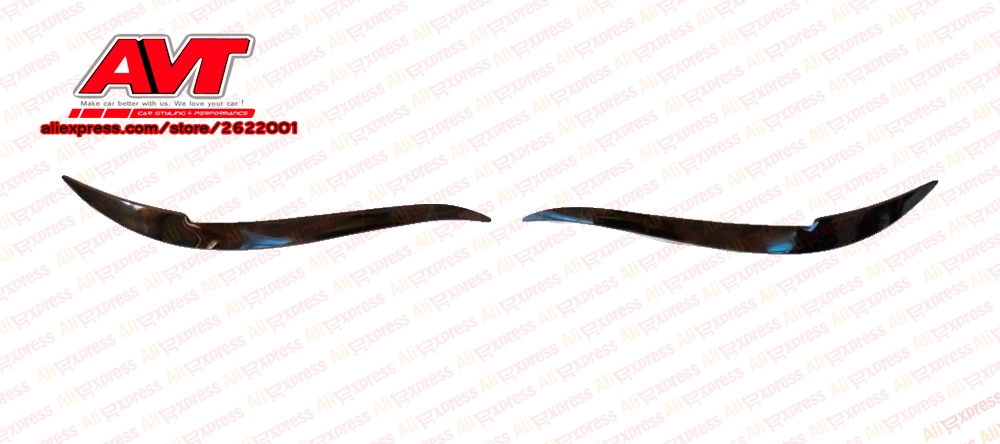 Cilia eyebrows for Toyota Mark II gx90 1992-1996 cover trim moldings lights exterior decoration front headlight car styling
