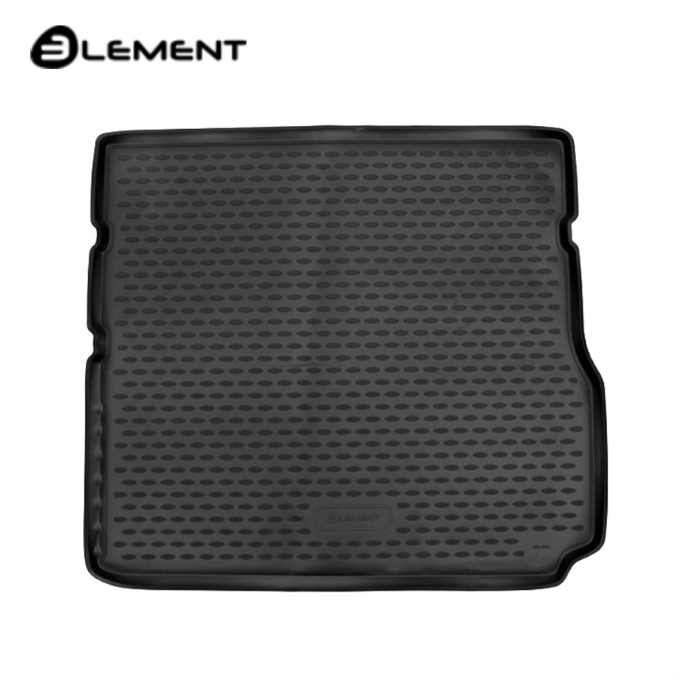 For Lada Vesta SW Cross Trunk mat for equipment with raised floor Element ELEMENT5249V12 chevron pattern floor mat